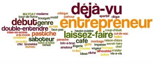 french words is used in english