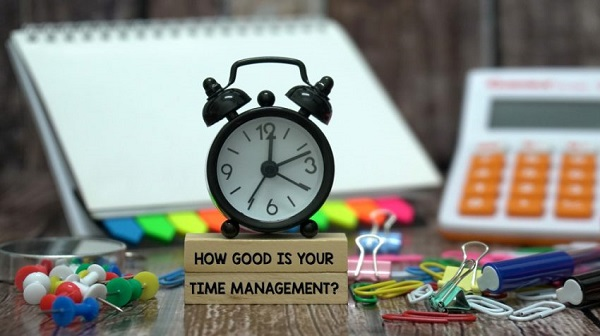 time management in listening pte